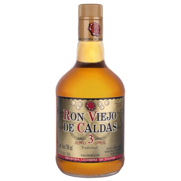 Ron Viejo de Caldas Rum 3 Anos