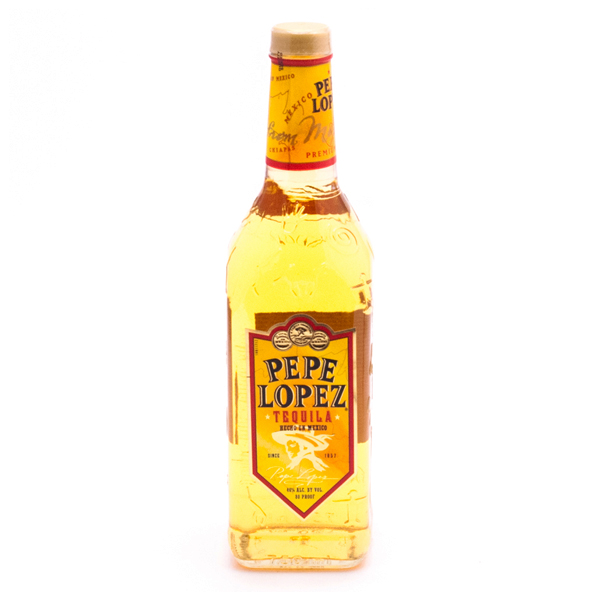Pepe Lopez Tequila Gold