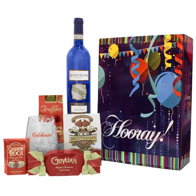 Bartenura 'HOORAY' Gift Box Set