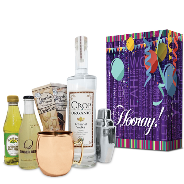Birthday Hooray! Moscow Mule Cocktail Gift Set