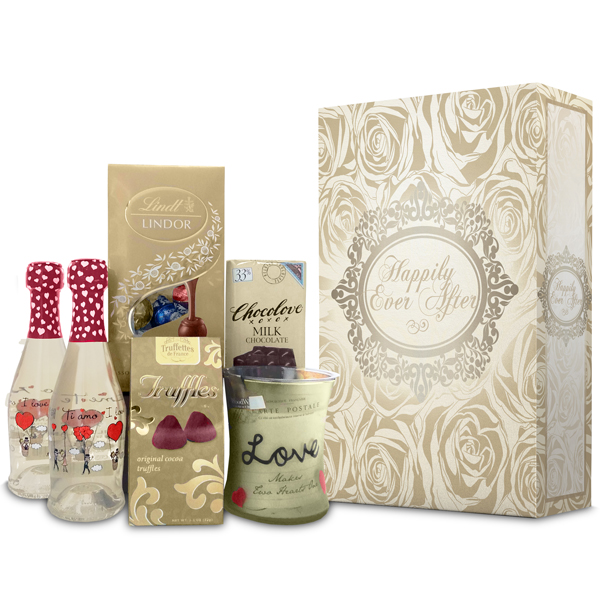 HAPPILY EVER AFTER WITH LOVE MOSCATO GIFT BOX SET