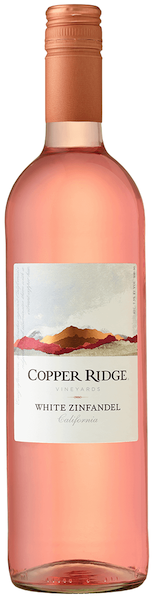 Copper Ridge White Zinfandel