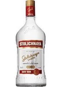 Stolichnaya Vodka 175 size