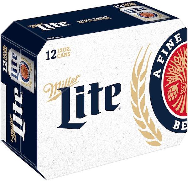 Miller Lite 12pk 12oz Cans