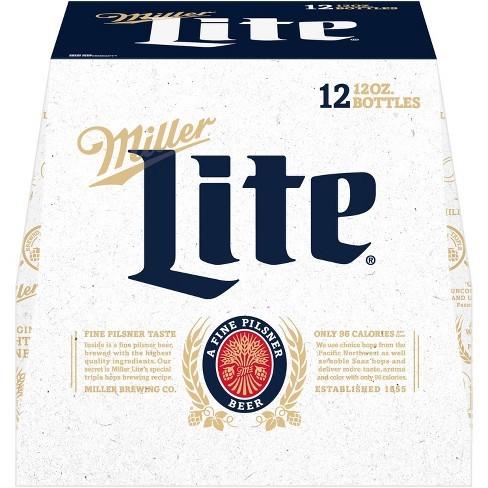 Miller Light 12pk 12oz Bottles