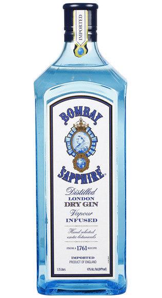 Bombay Gin Sapphire 1.75 Size