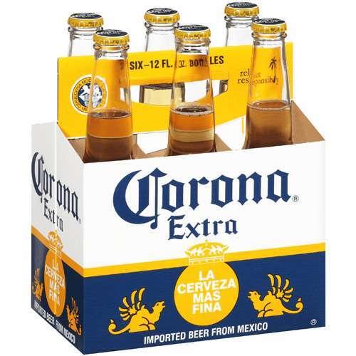 Corona - Extra (6 pack 12oz bottles)