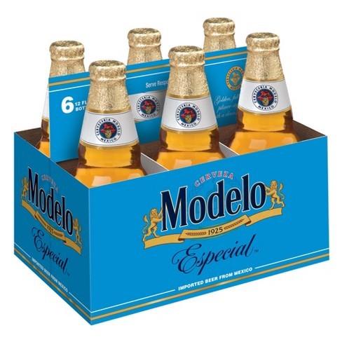 Modelo Especial Beer - 6pk 12 fl oz Bottles