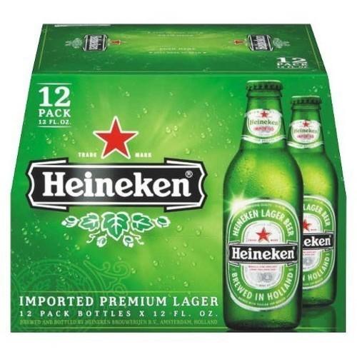 Heineken - Lager (12 pack 12oz bottles)