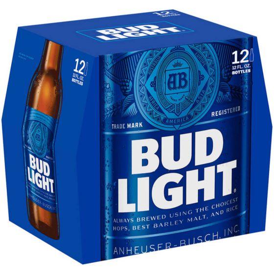 Bud Light 12 Pack 12 Oz Bottles