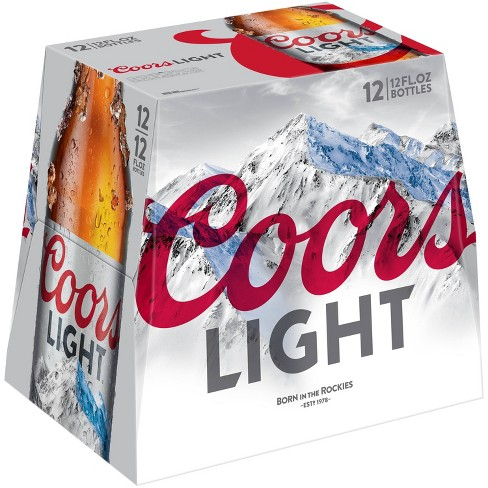 Coors Light 12pk Bottles