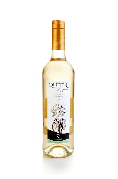 Queen of Spain Organic Chardonnay  91 calories
