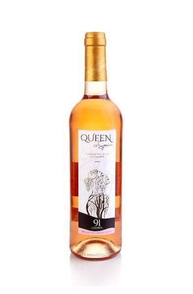 Queen of Spain Organic Garnacha Rosé   91 calories