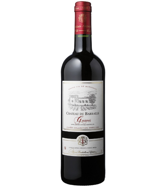 Le Chateau du Barrailh Graves Red