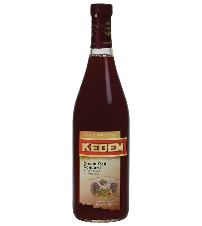 Kedem Cream Red