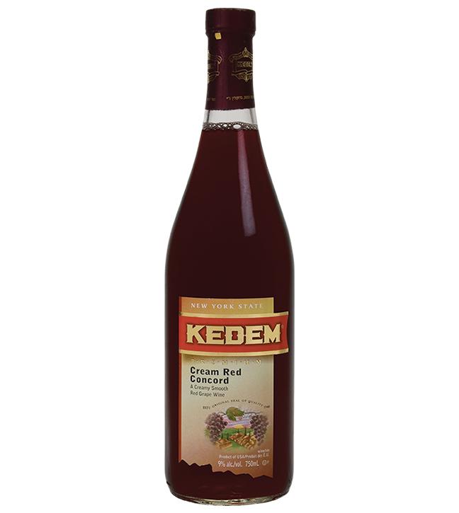 Kedem Cream Red