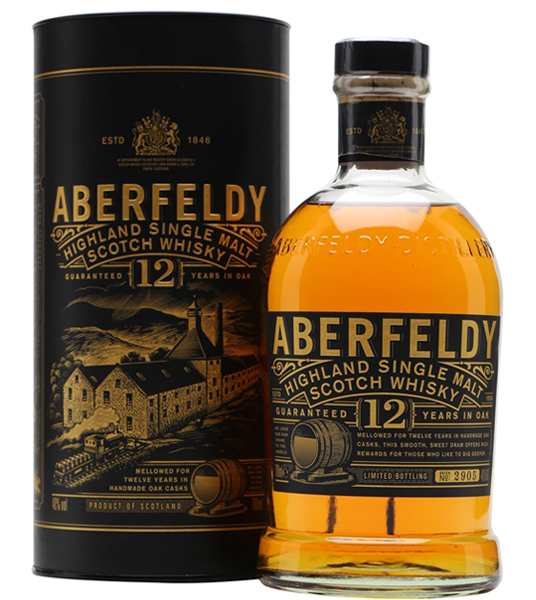 Aberfeldy Scotch Single Malt 12 Year