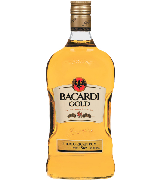 Bacardi Rum Gold 1.75 Size