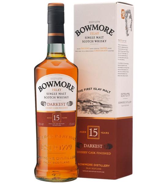Bowmore Scotch Single Malt 15 Year Darkest