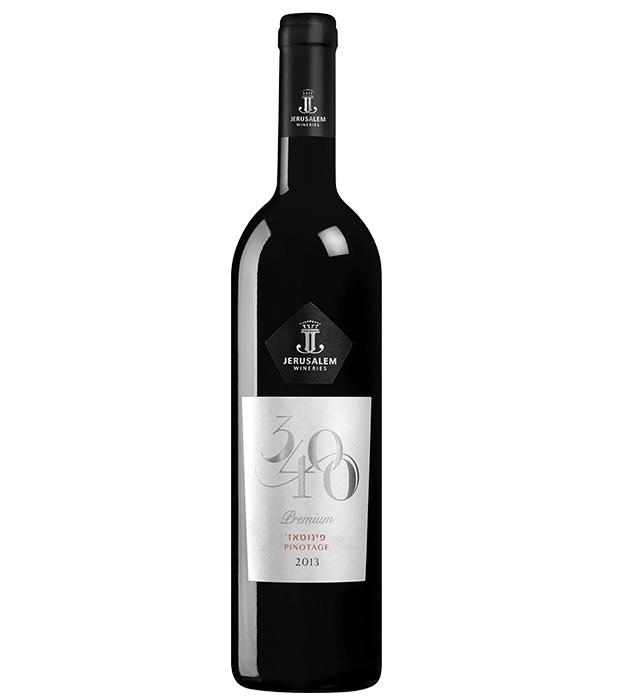 Jerusalem Vineyard 3400 Premium Pinotage