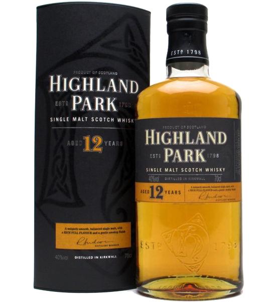 Highland Park Scotch Single Malt 12 Year