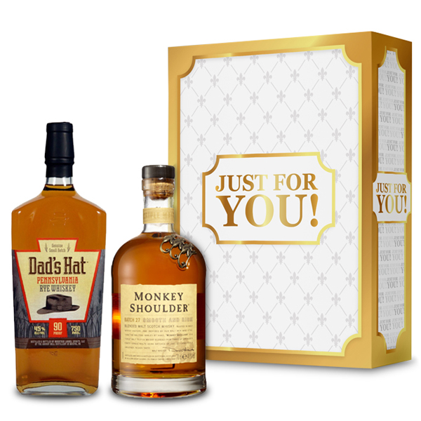 Our Just For You Whisky & Rye Gift Box
