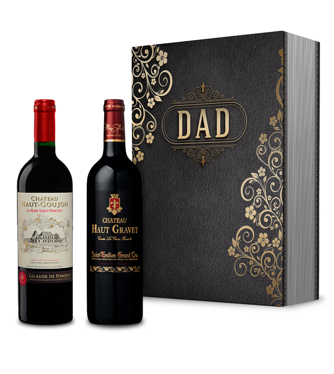 Our Dad French Wine Gift Box