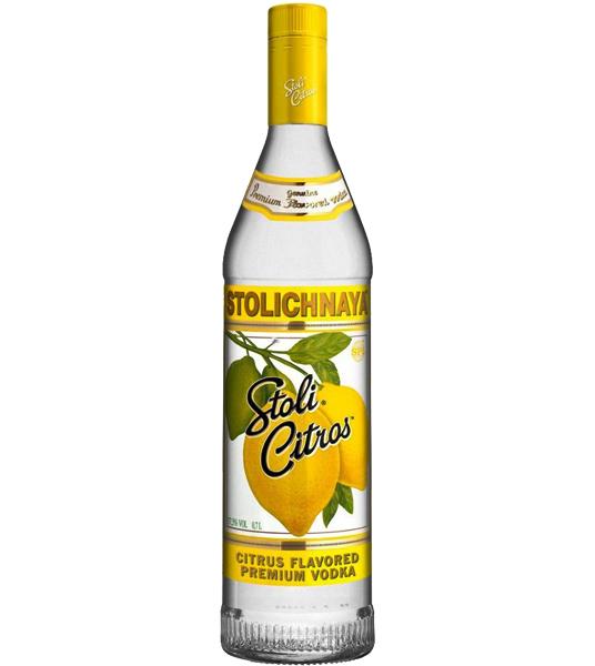 Stolichnaya Vodka Citros