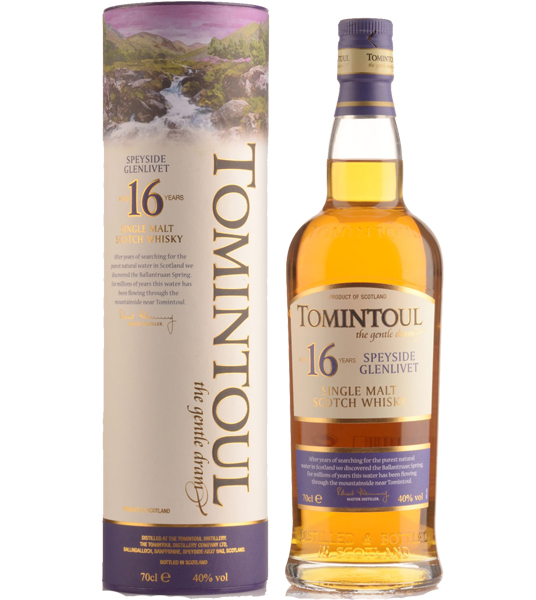 Tomintoul Scotch Single Malt 16 Year