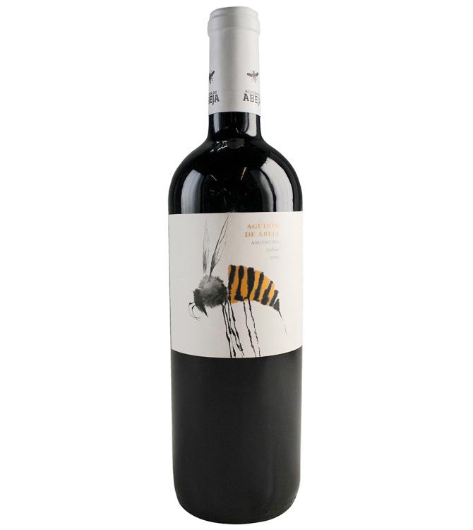 Aguijon De Abeja Malbec Bumblebee Label