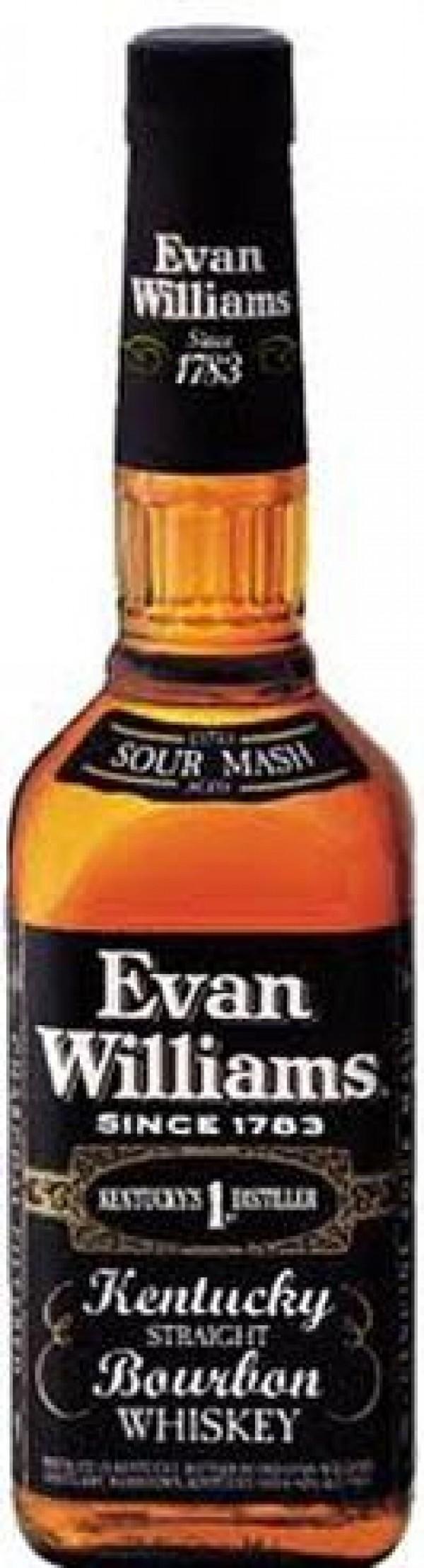 Evan Williams Bourbon Black Label 1.75