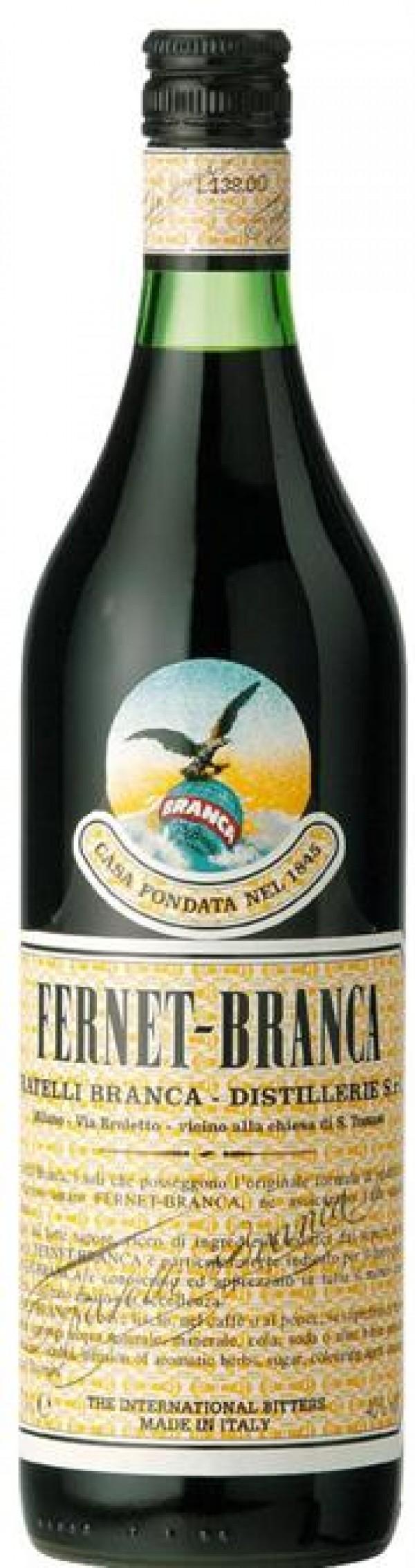 Fernet-Branca Amaro Liqueur