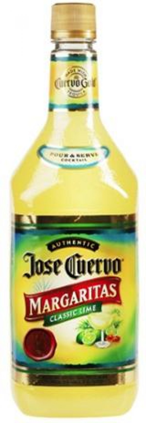 Jose Cuervo Margaritas Authentic Classic Lime
