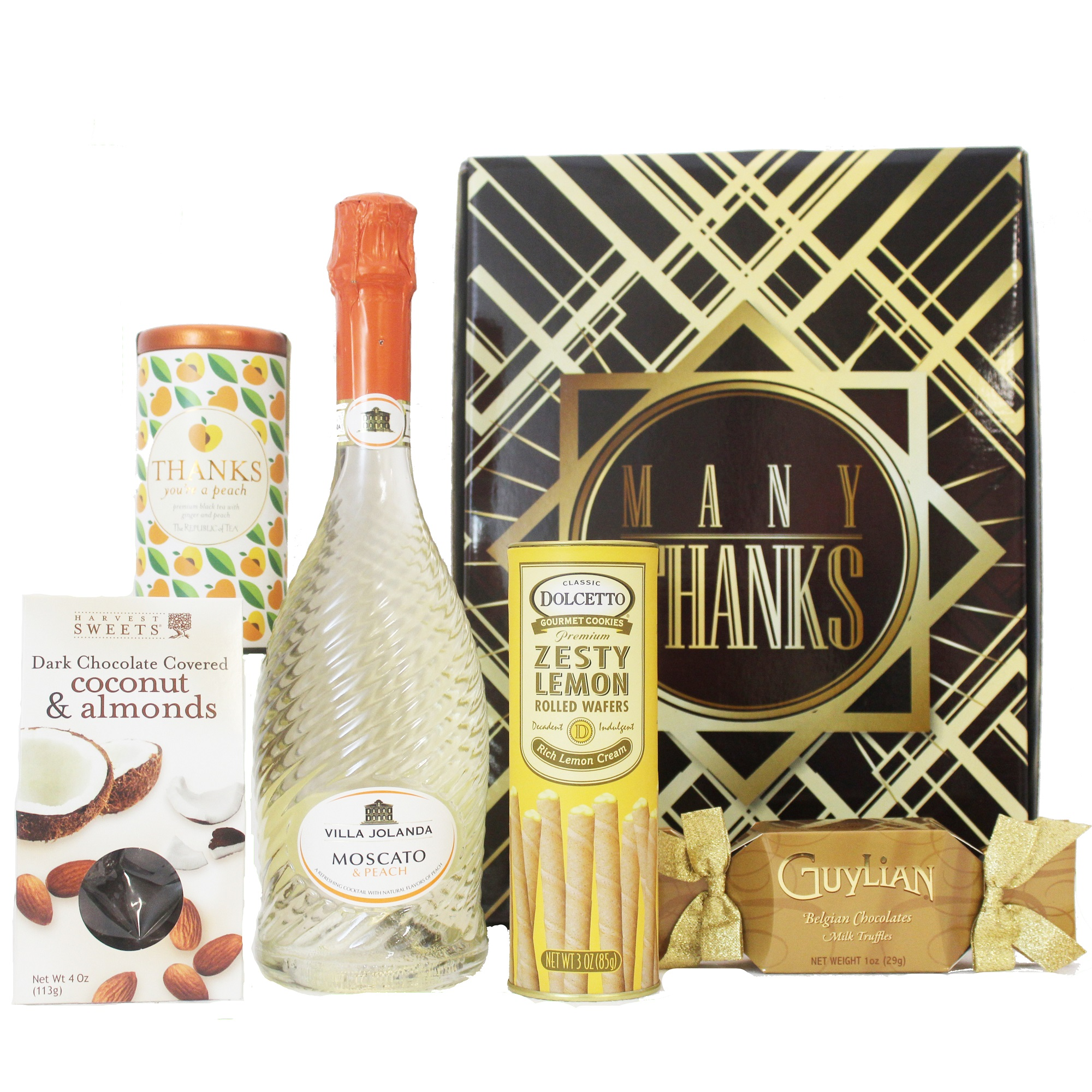 wine and whiskey country send a thank you gift box