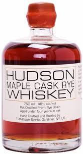 Hudson Rye Whiskey Maple Cask