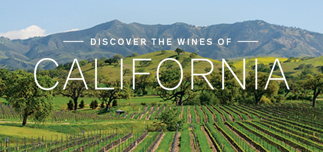 Discover the wines of California
