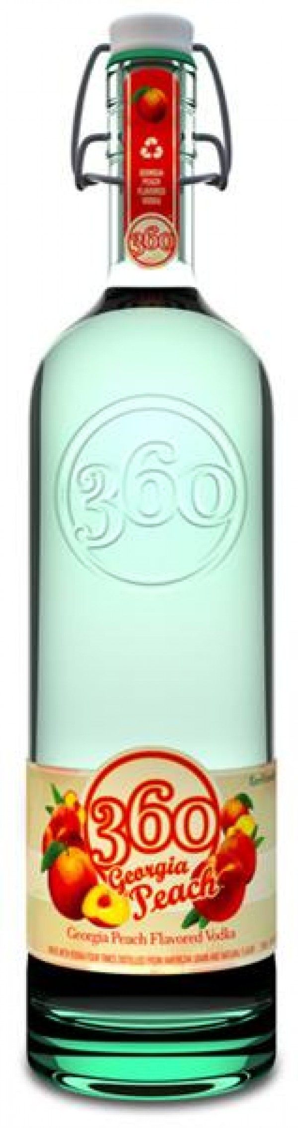 360 Vodka Georgia Peach