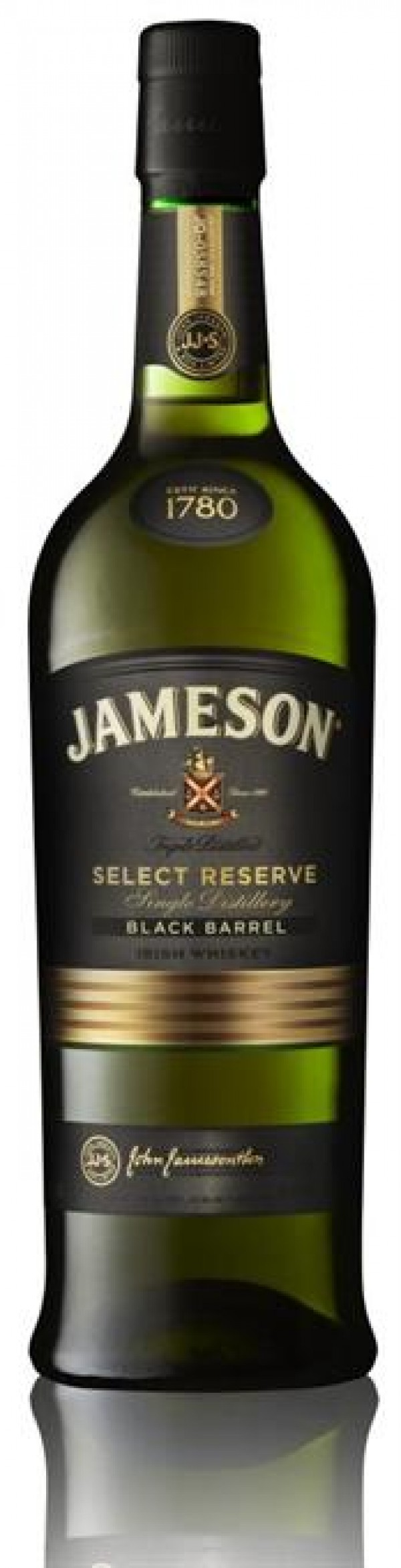 Jameson Irish Whiskey Black Barrel Select Reserve 80