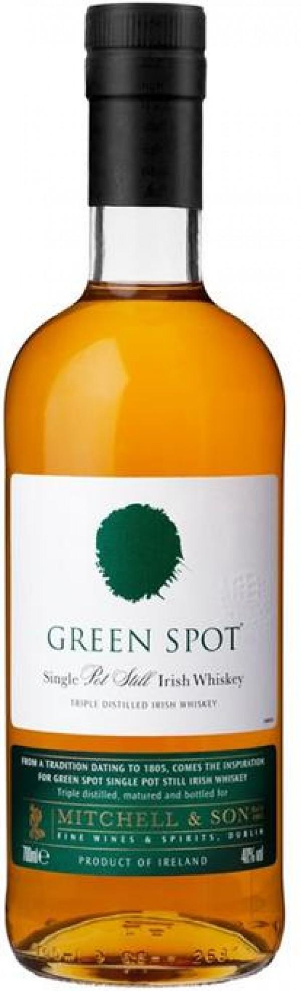 Green Spot Irish Whiskey Pot Still
