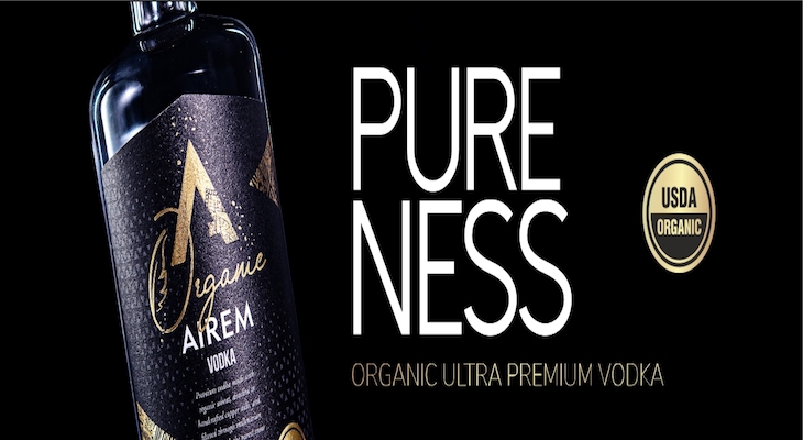 Ultra Premium Organic Vodka from the Heart of Sierra Nevada