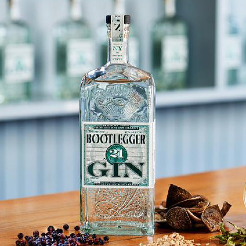 Bootlegger Gin: So good, you can leave out the tonic!