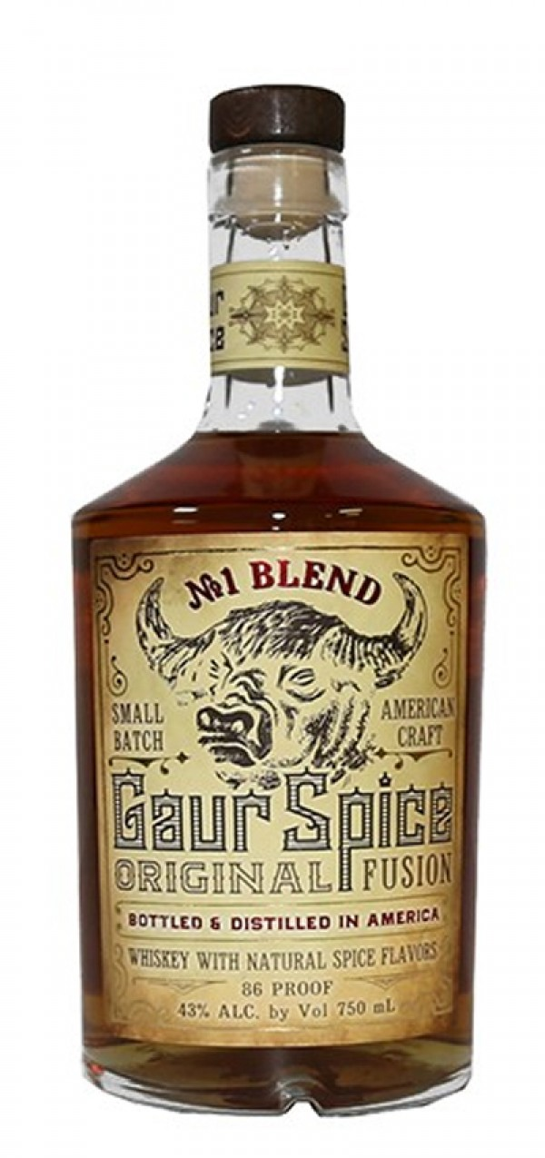 Gaur Spice Whiskey 750ml