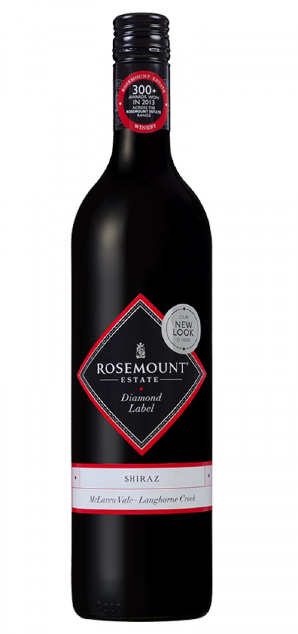 Rosemount Estate Shiraz Diamond Label