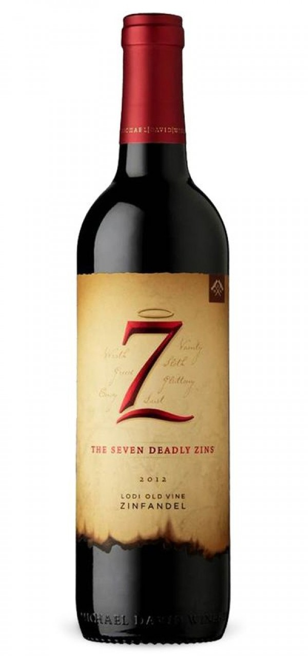 The Seven Deadly Zins Old Vine Zinfandel