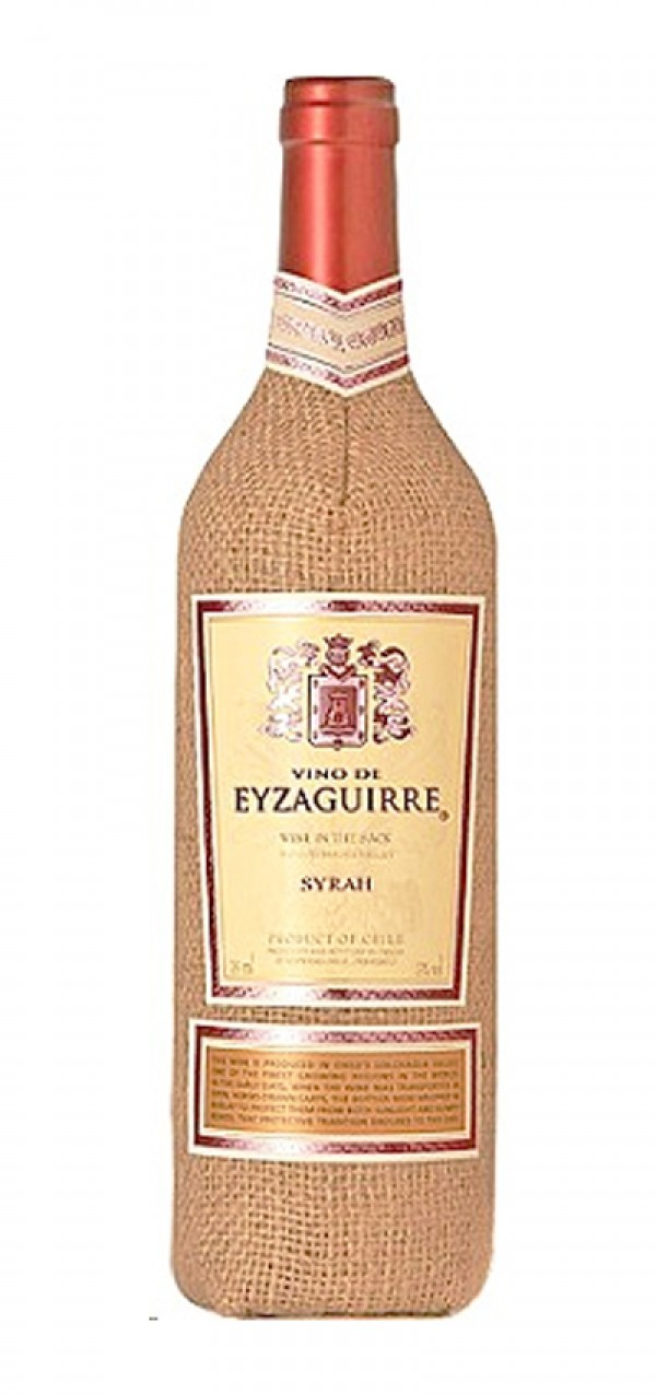 Vino de Eyzaguirre Syrah Wine In The Sack
