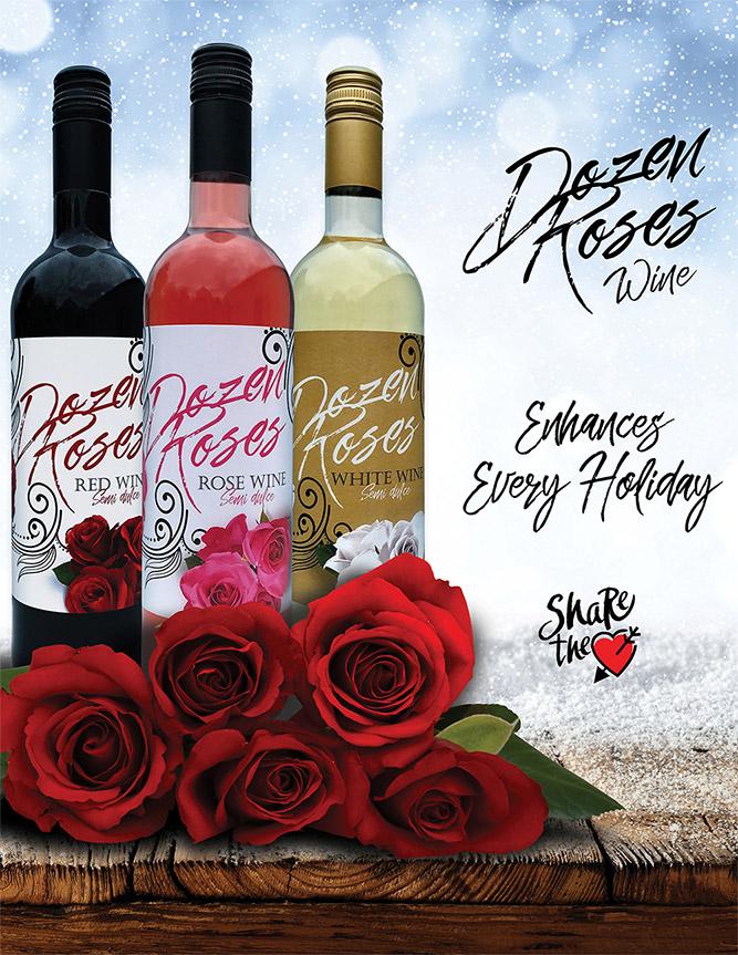 Dozen Roses Wine