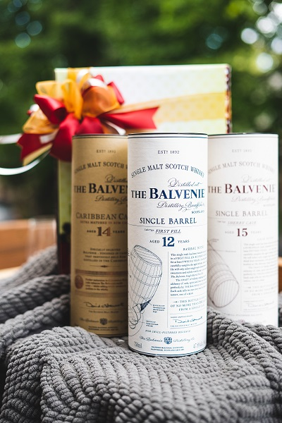Warm up with Balvenie